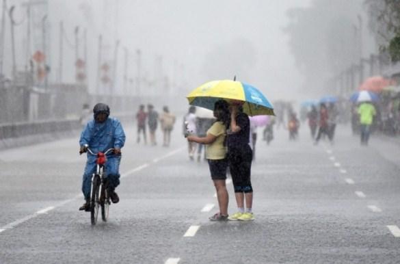 Perkiraan Cuaca Hujan DI Lampung