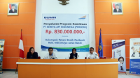 CSR PT. KAI berikan bantuan pinjaman dana Rp 830 Juta