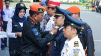 Penyematan Pin Posko Nataru PT. KAI Daop 6 Yogyakarta