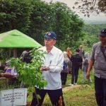 Penanaman ribuan bibit pohon yang diinisiasi oleh IPKINDO DIY di Kawasan Wisata Hutan Mungker, Dlingo, Bantul