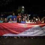 Deklarasi mahasiswa dan warga Papua di Yogyakarta untuk mendukung Polri mensukseskan dan mewujudkan Pemilu 2019 aman, damai dan sejuk.