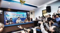 Suasana Press Release Persiapan Pembangunan Underpass Simpang Kentungan