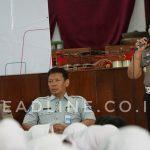AKBP Tri Iriani menyampaikan sosialisasi di hadapan siswa SMK N 6 Yogyakarta