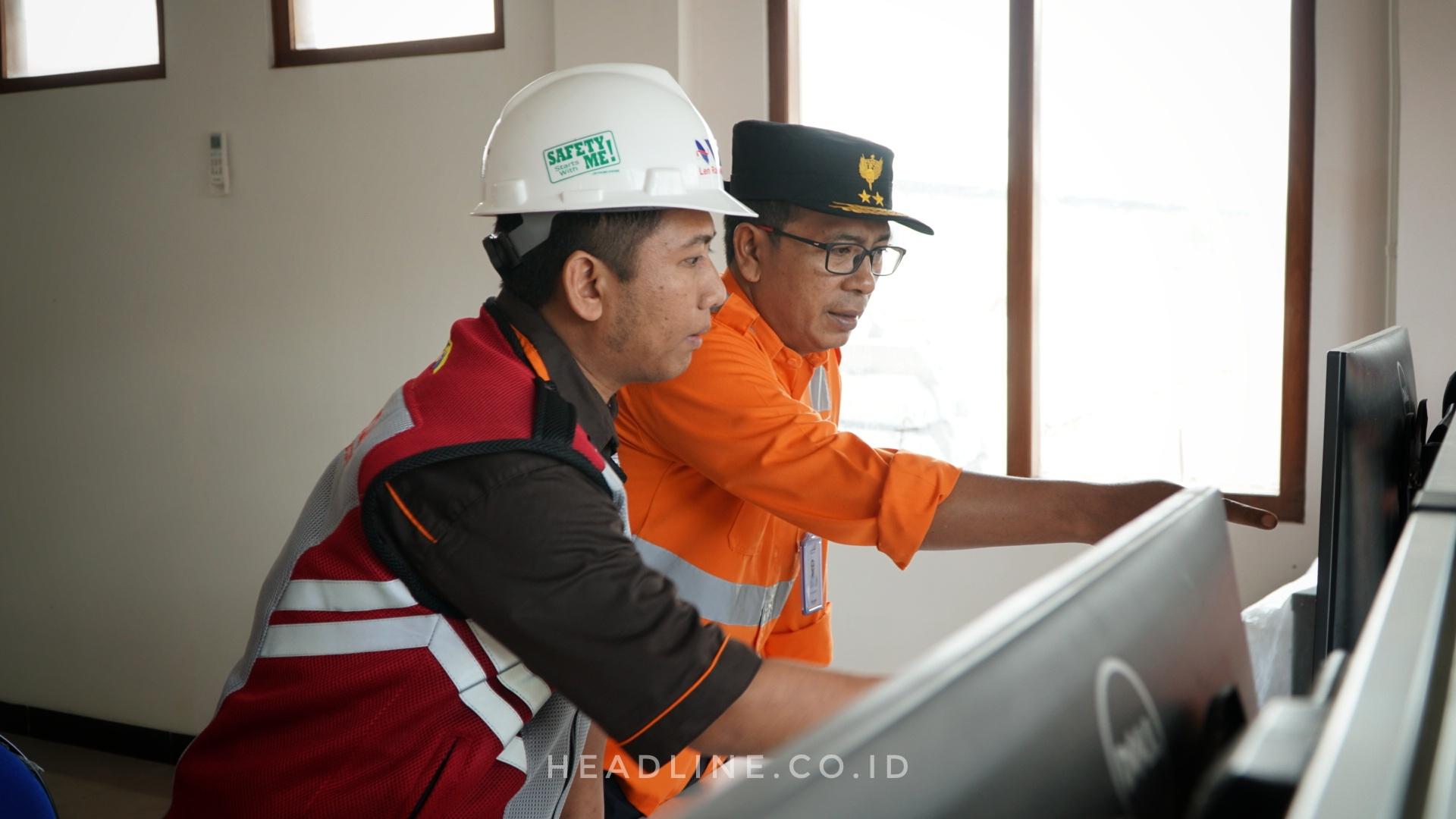 EVP Daop 6 Yogyakarta Melakukan Pengecekan Signal di Stasiun Palur