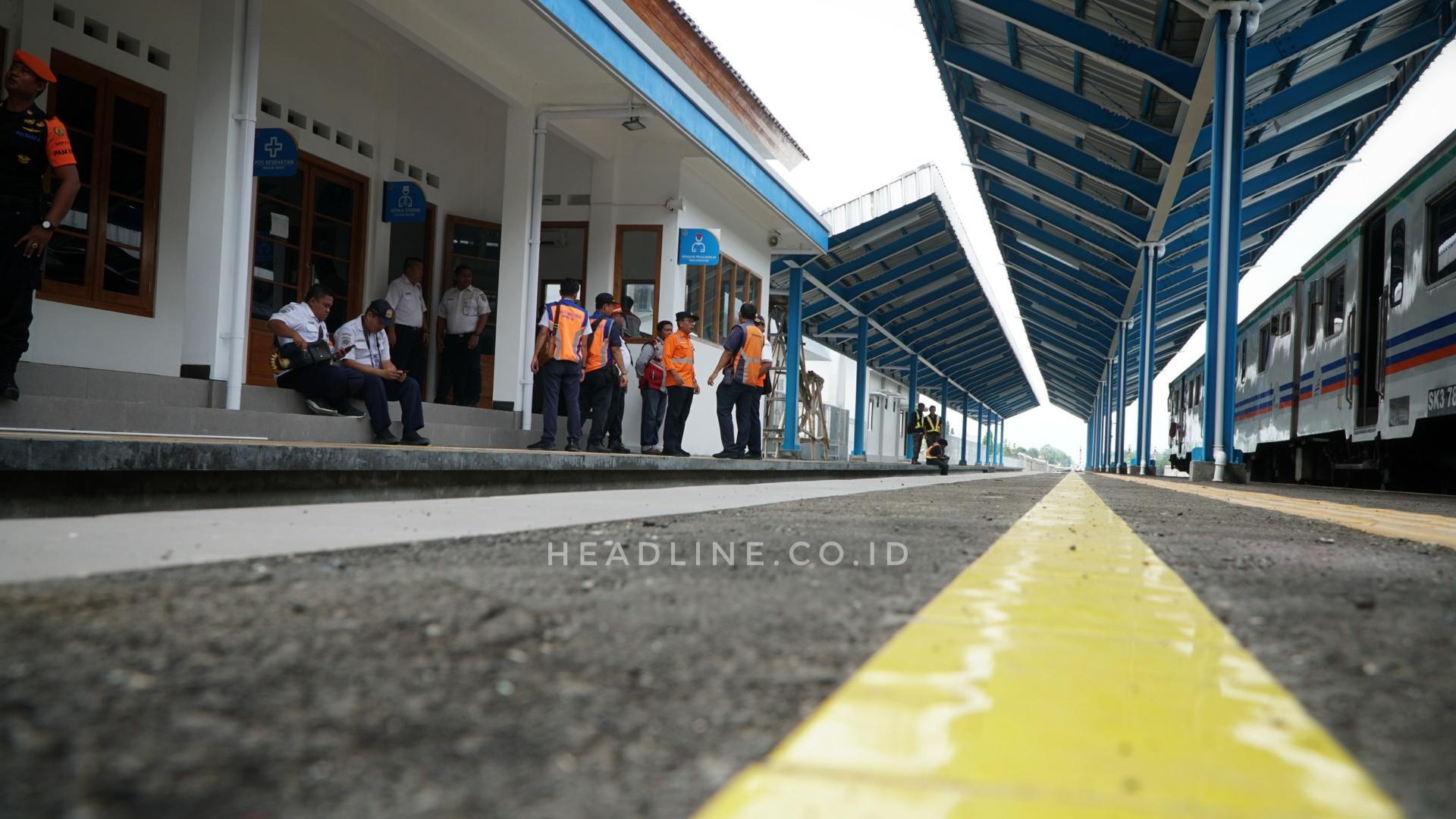 Kondisi Terkini Stasiun Kemiri