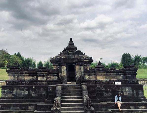 Keindahan Candi Utama Candi Sambisari Yogyakarta