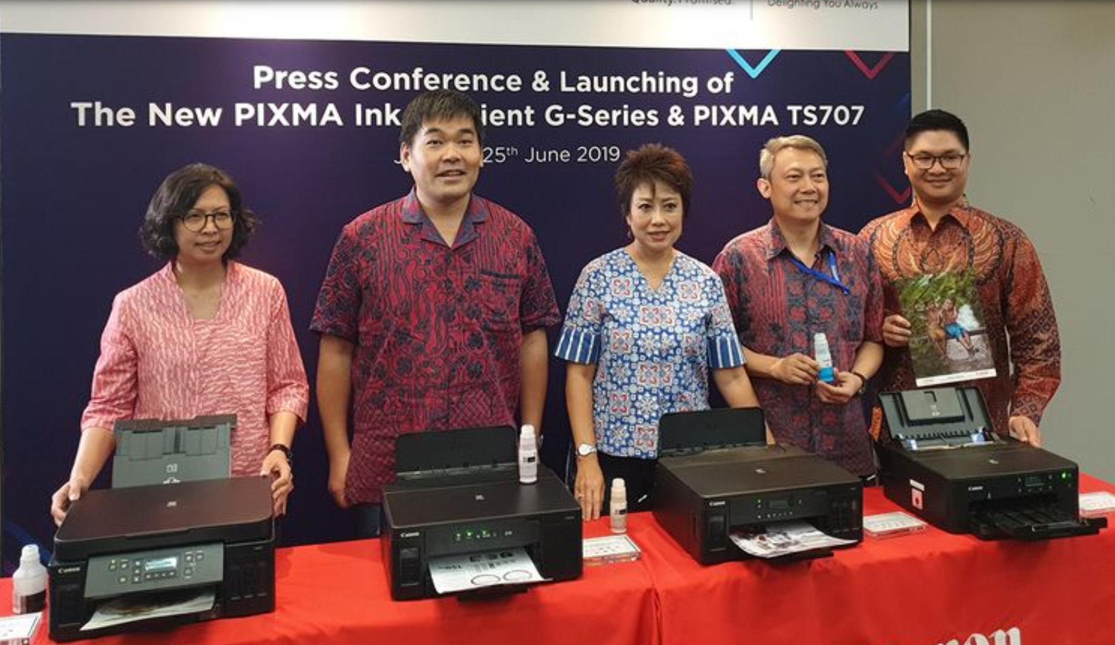 Canon Luncurkan 4 Printer Terbaru untuk pengusaha kecil