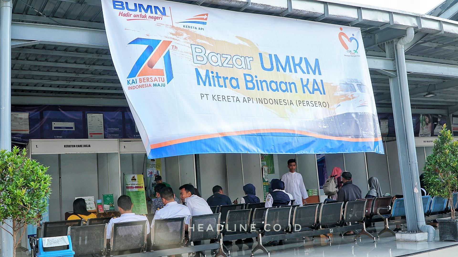 Bazar UMKM Binaan PT KAI