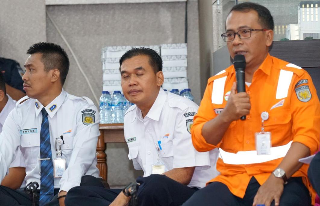 Kadaop 6 Yogyakarta Eko Purwanto Menyampaikan persiapan-persiapan khusus jelang Nataru