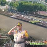 Kapolda Metro Jaya dan Pangdam jaya lakukan Apel Operasi Lilin Jaya 2019