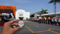 Upacara Gelar Apel Pasukan dan Bela Negara di Stasiun Tugu Yogyakarta