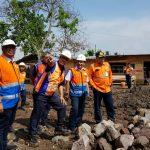 Dirut PT KAI (Persero) Edi Sukmoro beserta jajaran Direksi meninjau persiapan operasional jalur KA Cibatu-Garut.
