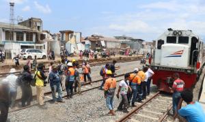 KAI uji coba jalur kereta Cibatu-Garut