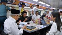 Wakil Presiden Ma'ruf Amin Naik Kereta Inspeksi