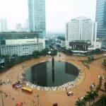 Jakarta langganan Banjir sejak zaman dahulu. (Foto: AFP/Adek Berry)