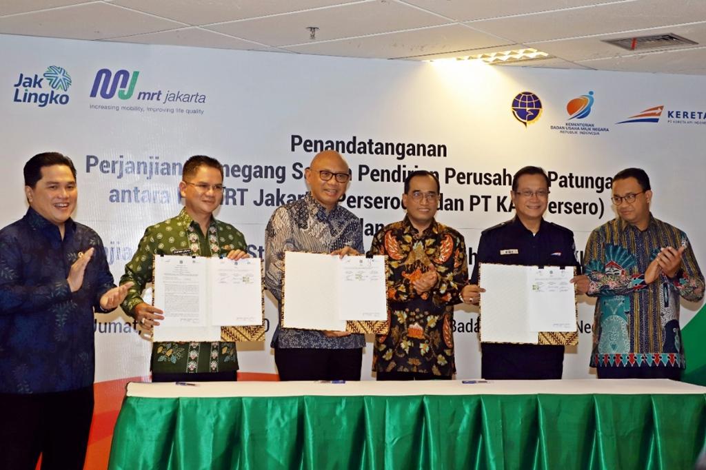 Menteri BUMN mengatakan berdirinya Perusahaan Patungan ini sesuai dengan arahan Bapak Presiden RI Joko Widodo