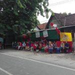 Rumah Dinas PT KAI (Persero) Jl Kalasan nomor 16 Surabaya yang rencananya akan dilakukan pengosongan oleh PT KAI, tapi ditolak oleh ratusan warga