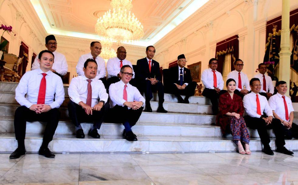 12 Wakil Menteri diangkat oleh Presiden Jokowi