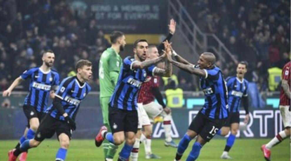 Intermilan Ungguli AC Milan dalam Big Match dini hari tadi Senin (10/2).