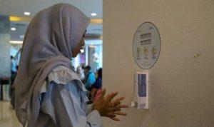Bandara Ngurah Rai sediakan 48 unit hand sanitizer untuk penumpang