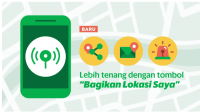 Fitur Keselamatan di Aplikasi Grab dapat digunakan dalam keadaan darurar menurut pelanggan.