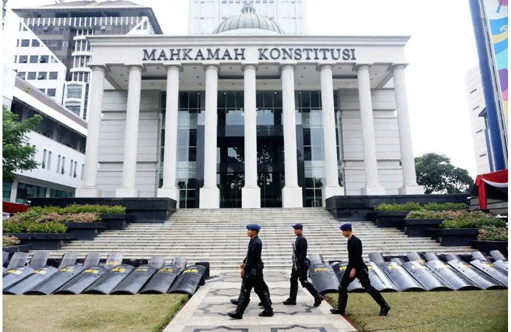 Gedung Mahkamah Konstitusi Jakarta.