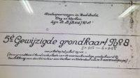 Grondkaart, Bukti Lahan yang Sah dari Zaman Belanda. (Foto: Istimewa)