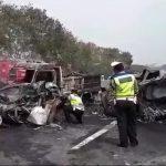 Ilustrasi Kecelakaan Beruntun terjadi di Tol Layang Jakarta-Cikampek.