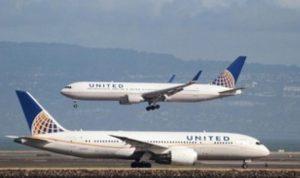 Ilustrasi foto maskapai Penerbangan United Airlines asal Chicago Amerika Serikat.