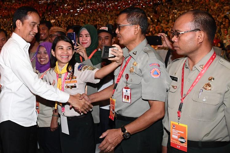 Instruksi Presiden Terkait Kesiagaan Hadapi Bencana
