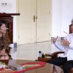 Jokowi Bertemu dengan Direktur Pelaksana Bank Dunia