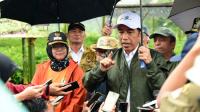Jokowi Kembali Kunjungi Longsor di Kecamatan Sukajaya, Kabupaten Bogor