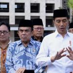 Jokowi Tinjau Perkembangan Renovasi Masjid Istiqlal