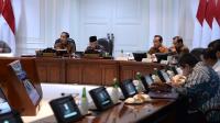 Jokowi sampaikan Persiapan Piala Dunia Basket 2023 di Kantor Kepresidenan