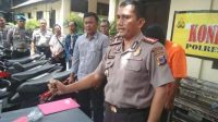 Kapolresta Yogyakarta Kombes Armaini saat memberikan keterangan kepada wartawan di Polresta Yogya