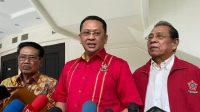 Ketua MPR RI Bambang Soesatyo Saat temui Wartawan di Kompleks Parlemen