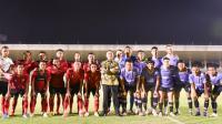 Ketua Umum PSSI Saksikan Pertandingan Ujicoba Timnas dengan Persita Tangerang