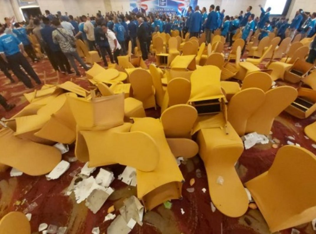 Kongres PAN Ricuh di Kendari Sulawesi Tenggara.