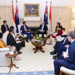 Kunjungan Kerja Presiden Jokowi dengan Gubernur Jendral David Hurley Australia