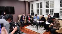 Menteri Retno Marsudi Menyampaikan Agenda Presiden Jokowi di Canberra Australia