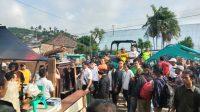 Penertiban Aset PT KAI di Lampung oleh Para Pegawai Divre IV Tanjungkarang.
