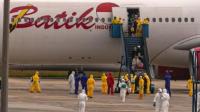 Pesawat Evakuasi Penduduk WNI di Wuhan China