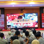 Polda DIY lakukan Sosialisasi Pencegahan Virus Corona di Mapolda DIY