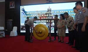 Polda DIY membuka Acara Menolak Kejahatan Jalanan yang Dilakukan Pelajar Dalam Mewujudkan Yogyakarta Sebagai Kota Pendidikan & Kota Budaya