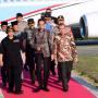 Presiden Joko Widodo Berserta Rombongan