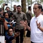 Presiden Joko Widodo Saat Kunjungan Kerja Ke Magelang Jawa Tengah