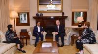 Presiden Jokowi Dijamu oleh PM Morrison