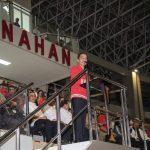 Presiden Jokowi Meresmikan Stadion Manahan Solo Malam ini.