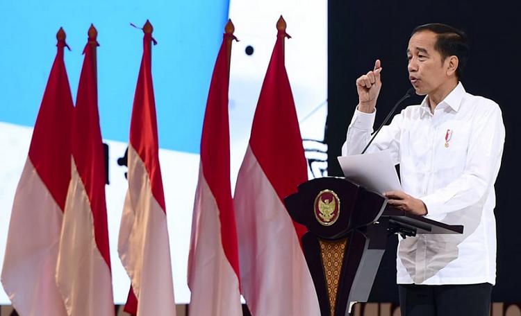 Presiden Jokowi Pemerintah terus berupaya meningkatkan ekosistem digital di Indonesia
