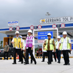 Presiden Jokowi Tinjau Pembangunan ruas tol sepanjang 131 km di Pekanbaru